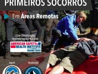 25 e 26 de ABRIL - Primeiros Socorros em Áreas Remotas - Wilderness First Aid (WFA)